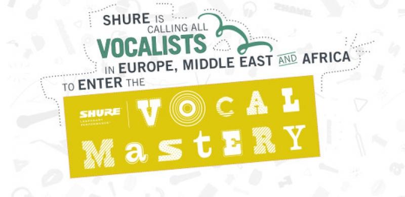 Shure Vocal Mastery konkurss