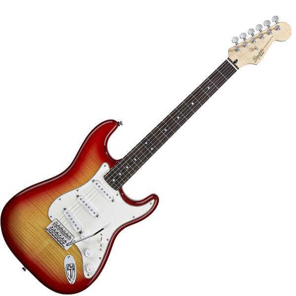 Fender Squier Standard Stratocaster Cherry Sunburst ģitāra