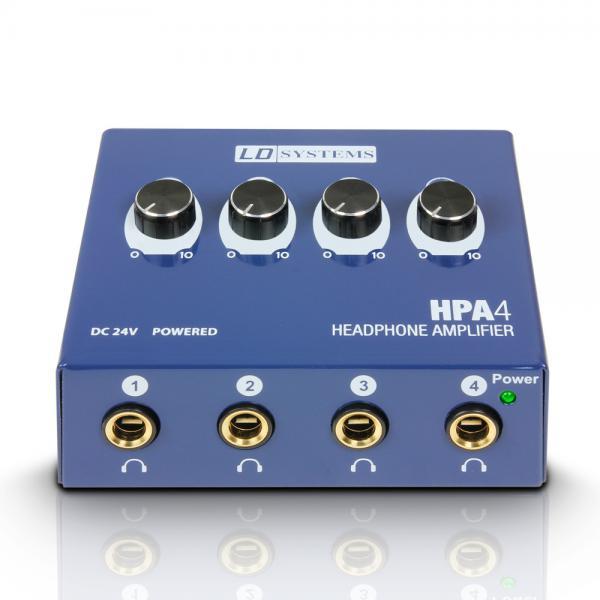 LD Systems HPA4 austiņu pastiprinātājs