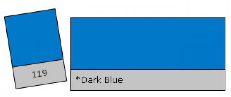LEE 119 Dark Blue krāsu filtrs