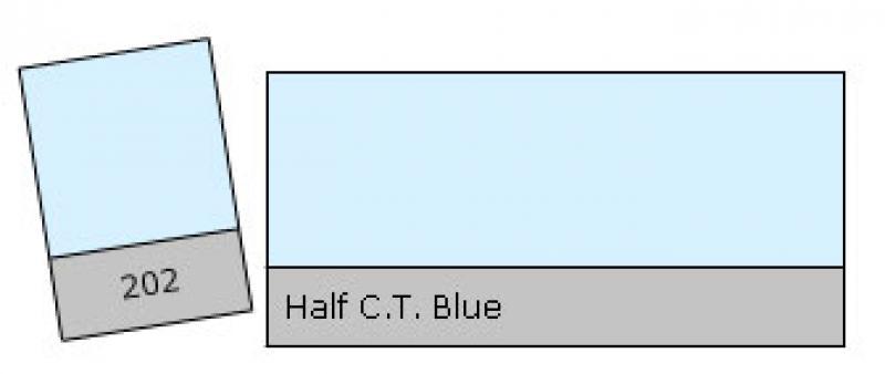 LEE 202 Half C.T. Blue krāsu filtrs