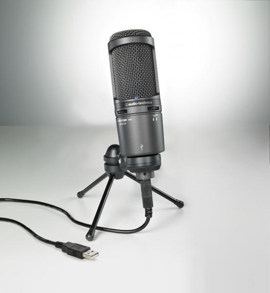 Audio-technica AT2020USB+ mikrofons
