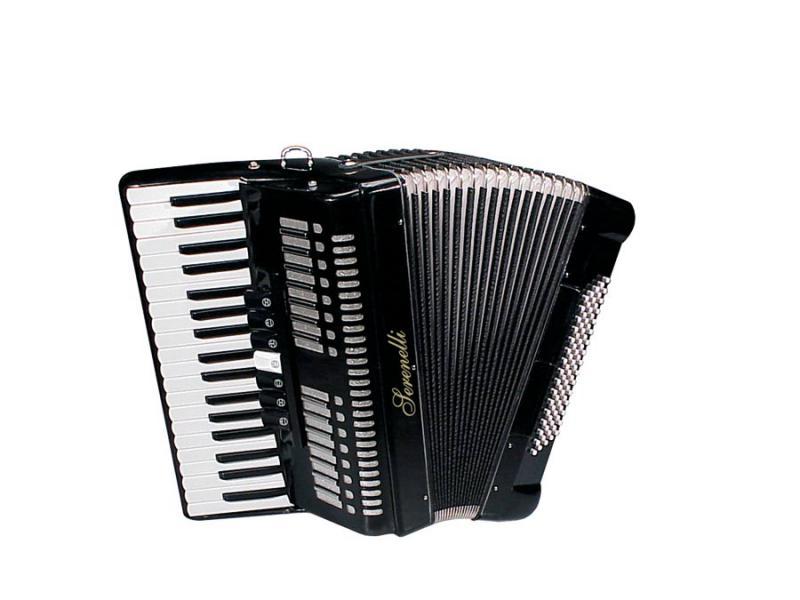 Serenelli Y-8037-BK akordeons 80 basi