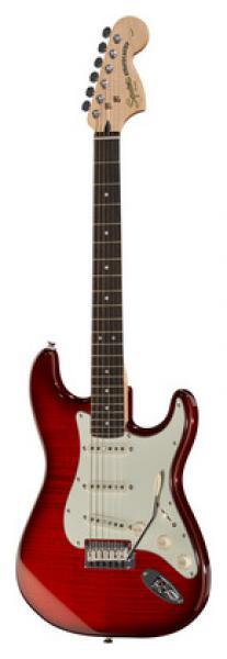 Fender Squier Standard Strat FMT CRT elektriskā ģitāra