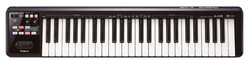 Roland A-49 BK midi klaviatūra