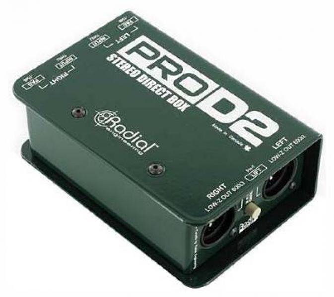 Radial Engineering Pro D2  DI-box