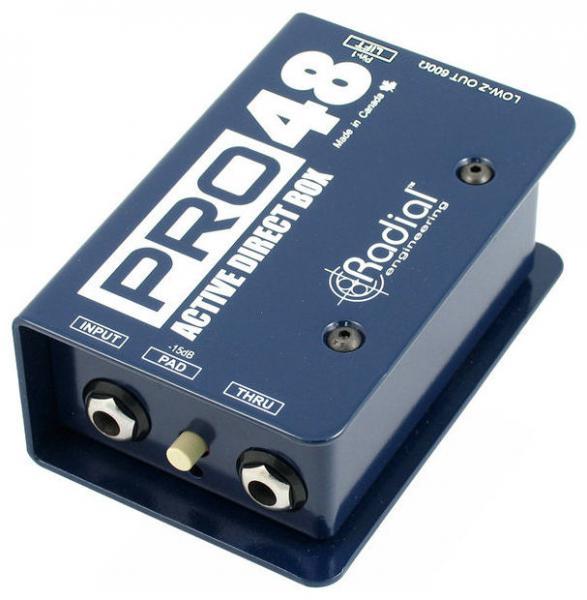 Radial Engineering Pro 48 DI-box
