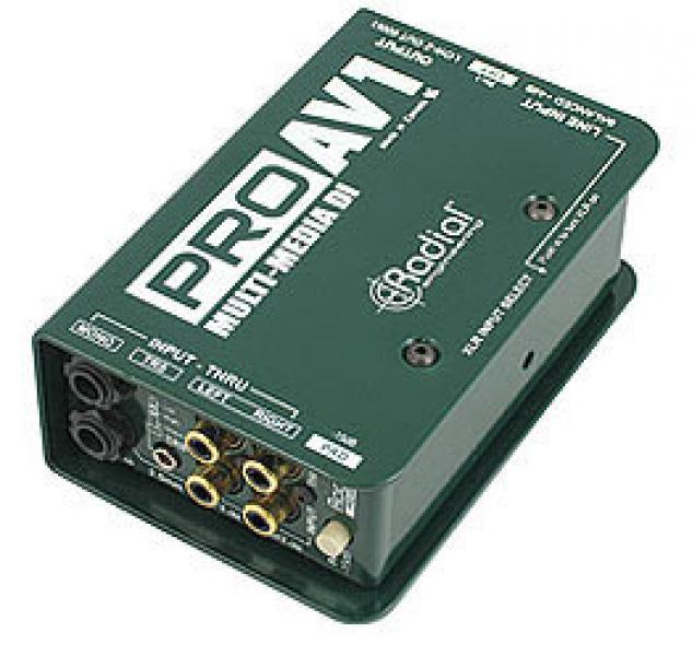 Radial Engineering Pro AV1 DI-box