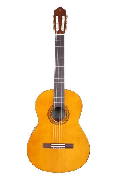 Yamaha CX40II klasiskā ģitāra ar elektroniku