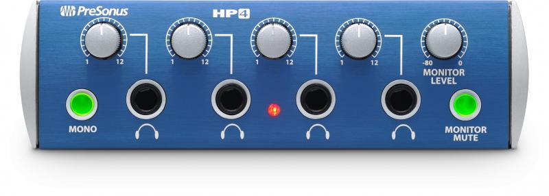Presonus HP4 austiņu pastiprinātājs