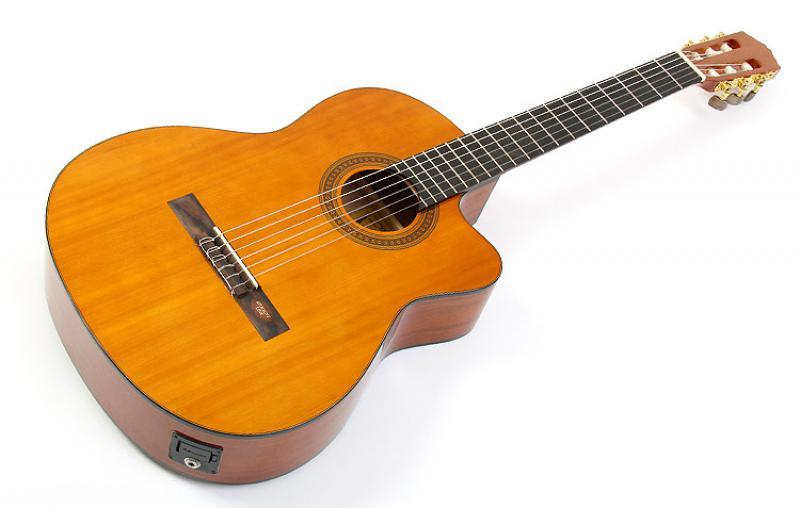Salvador Cortez CC-10CE klasiskā ģitāra ar elektroniku