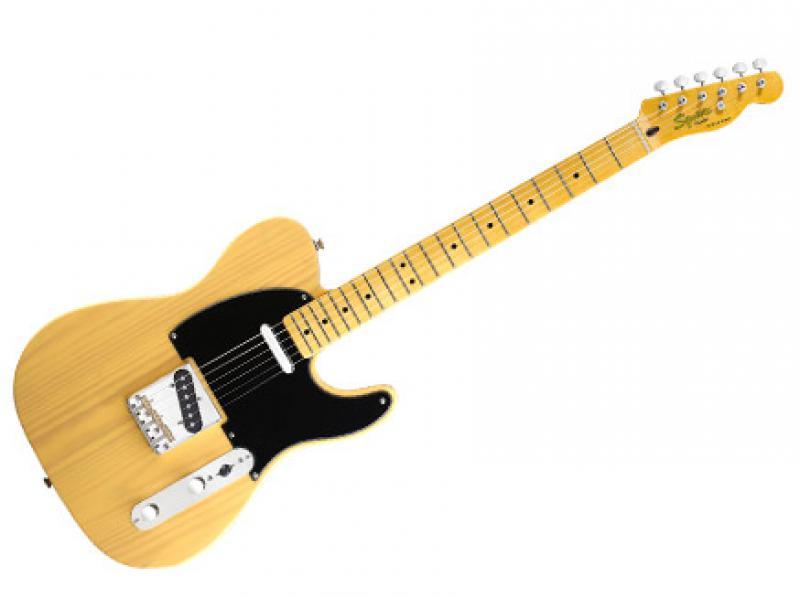 Fender Squier Classic Vibe Telecaster 50s, btb elektriskā ģitāra