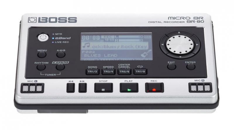 Boss BR-80 digitālais audio rakstītājs