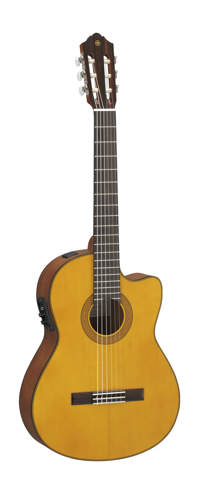 Yamaha CGX122MCC klasiskā ģitāra ar elektroniku