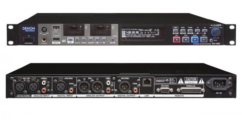 Denon DN-700R tīkla audio rakstītājs