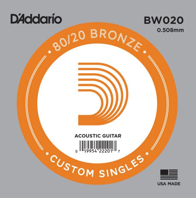 D'Addario BW020 stīga