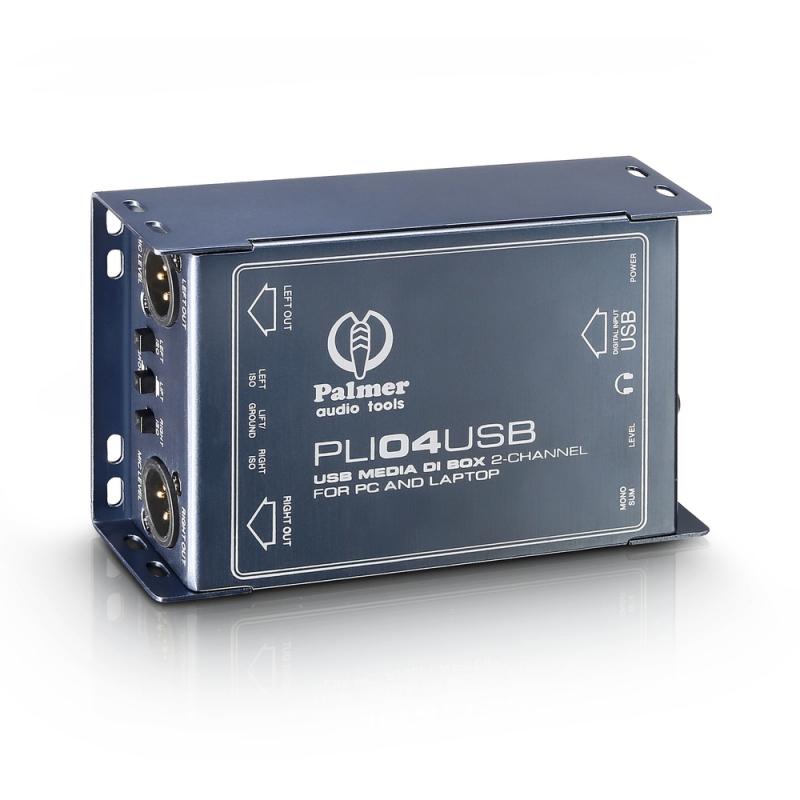 Palmer PLI 04 USB DI Box datoram un līnijas izolators