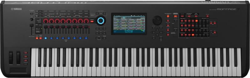 Yamaha MONTAGE7 sintezators