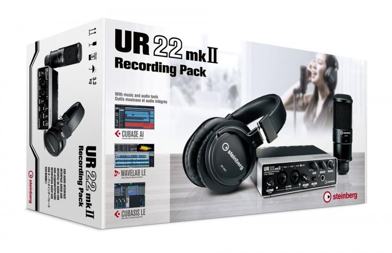 Steinberg UR22 mkII Recording Pack komplekts