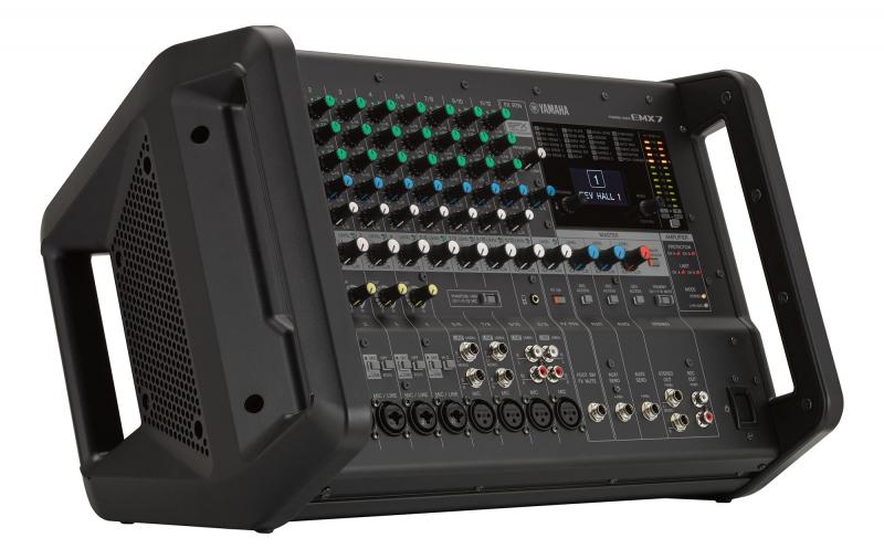 Yamaha EMX 7 mikserpults ar pastiprinātāju