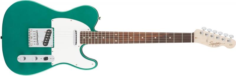 Fender Squier Affinity Telecaster Race Green elektriskā ģitāra