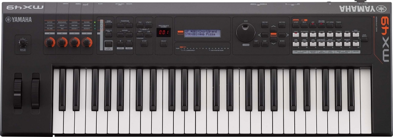 Yamaha MX49_BK V2 sintezators