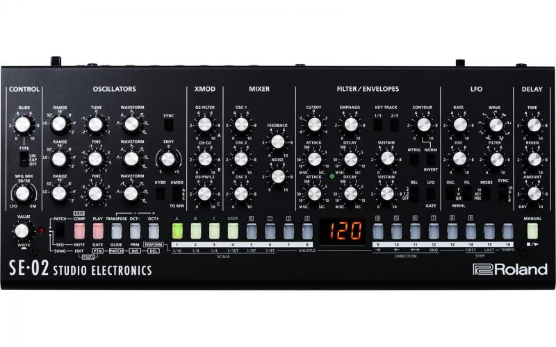 Roland SE-02 skaņas modulis