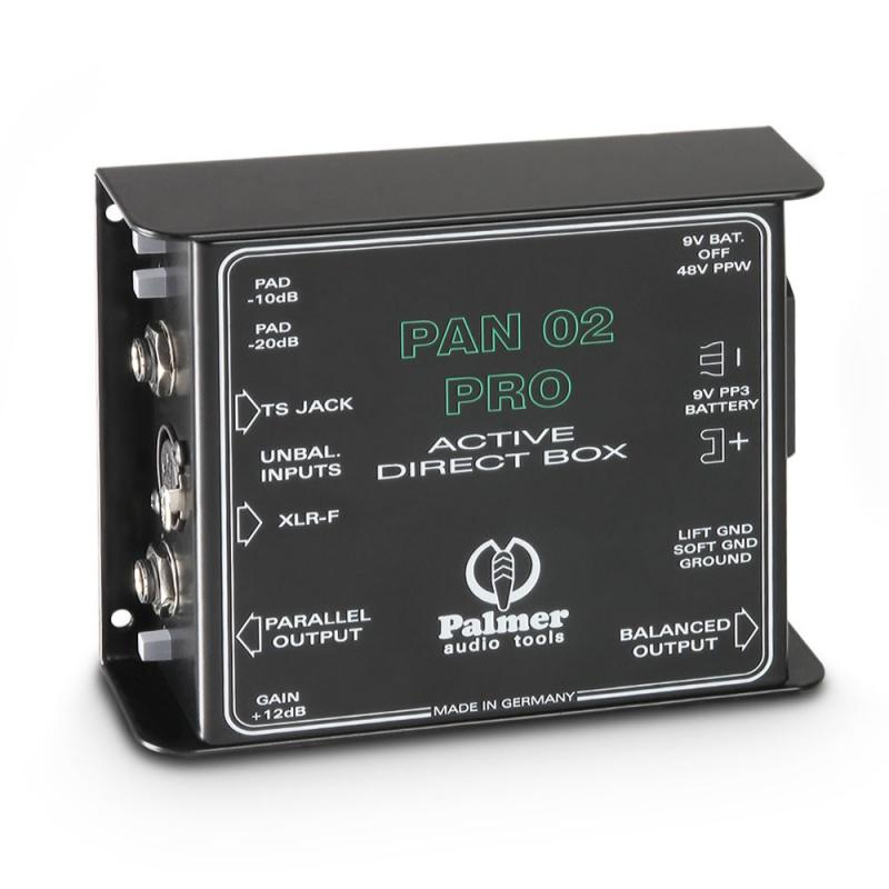Palmer PAN02PRO aktīvais līnijas transformators