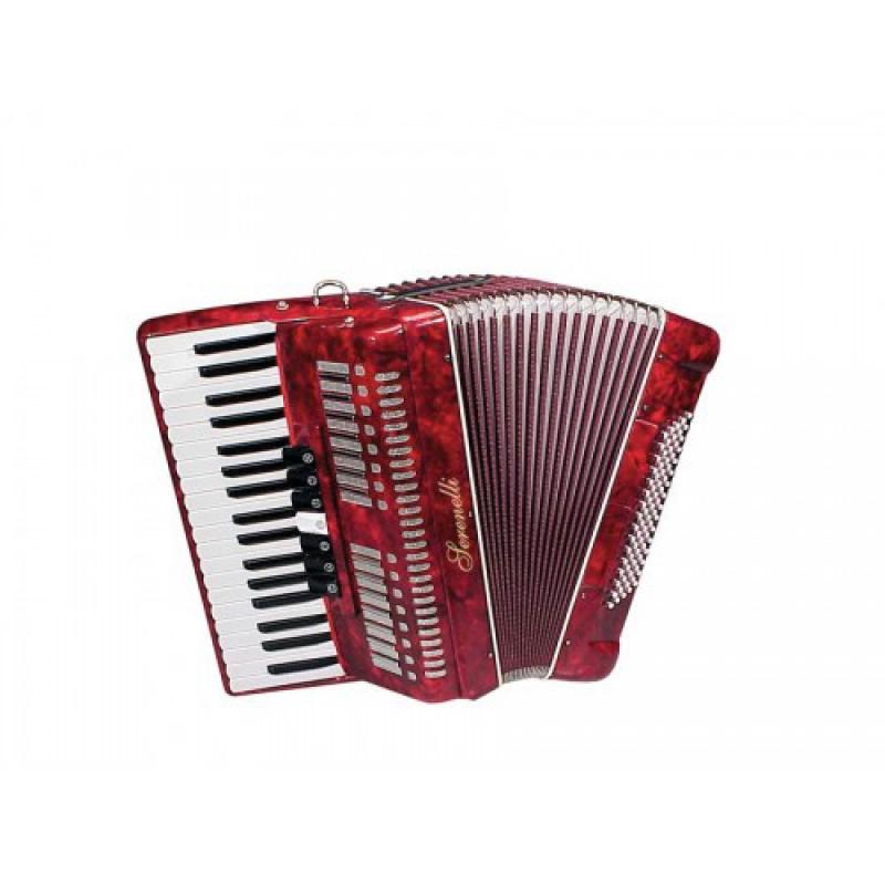 Serenelli Y-8037-R akordeons 80 basi