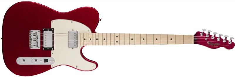 Squier Contemporary Tele HH MET RD ģitāra