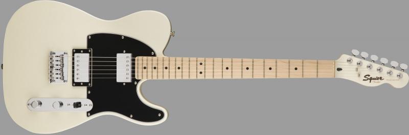 Squier Contemporary Tele HH WHT ģitāra