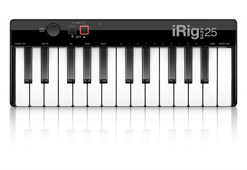 IK Multimedia iRig Keys 25 USB klaviatūra