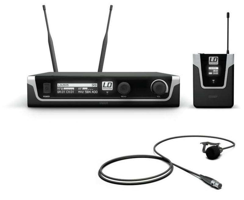 LD Systems U508 BPL piespraužamais mikrofons