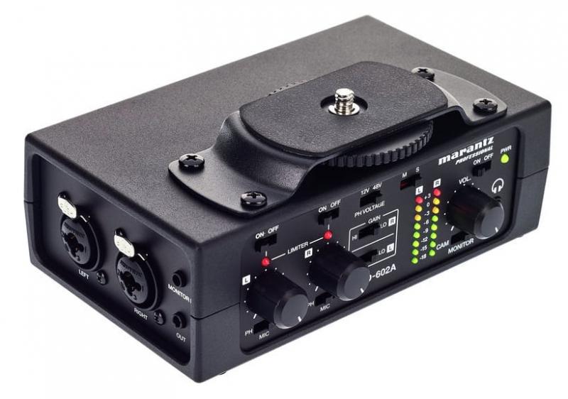 Marantz PMD-602A priekšpastiprinātājs
