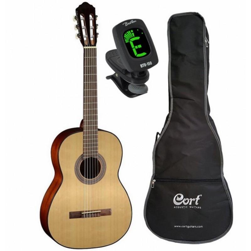 Cort AC70 OP 3/4 KIT klasiskā ģitāras komplekts