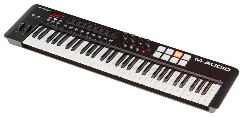 M-Audio Oxygen 61 mk4 MIDI klaviatūra