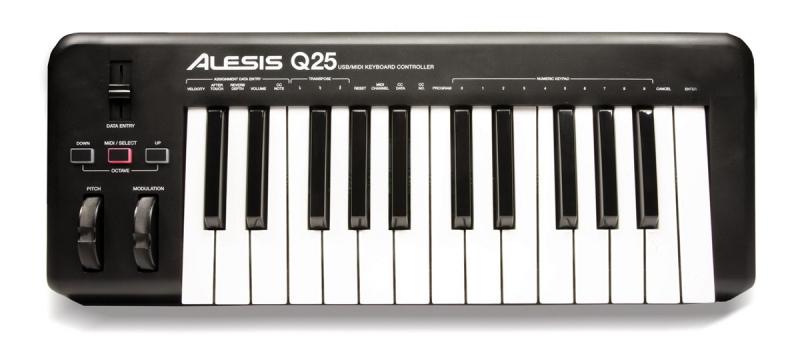 Alesis Q25 USB MIDI klaviatūra