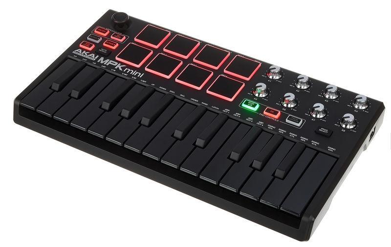 AKAI MPK Mini MK2 BLK MIDI klaviatūra