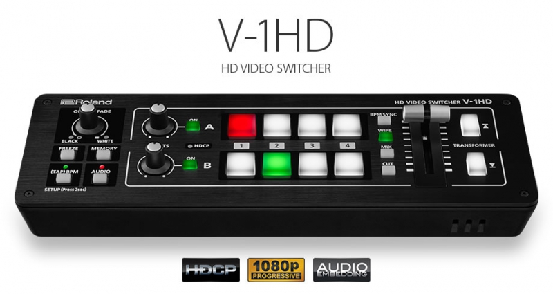 Roland V-1HD video mikseris