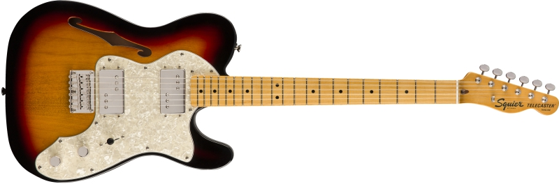 Fender Squier Classic Vibe 70s Telecaster Thinline MN 3TS