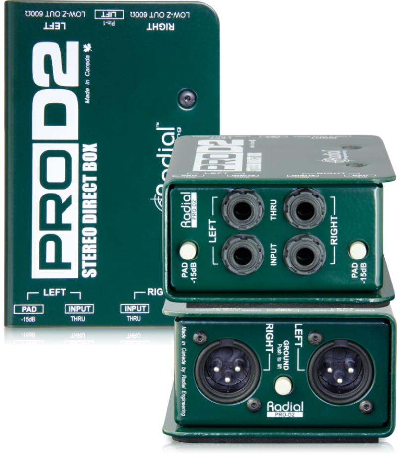 Radial Engeneering ProD2 pasīvais DI-box