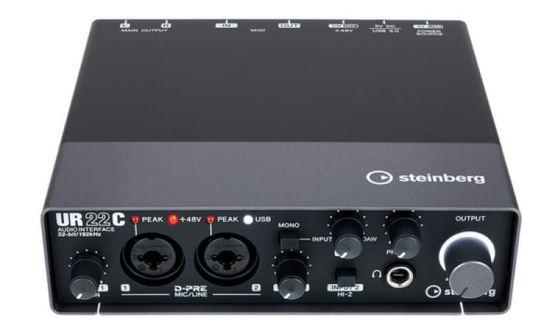 Steinberg UR22C USB audio interfeiss